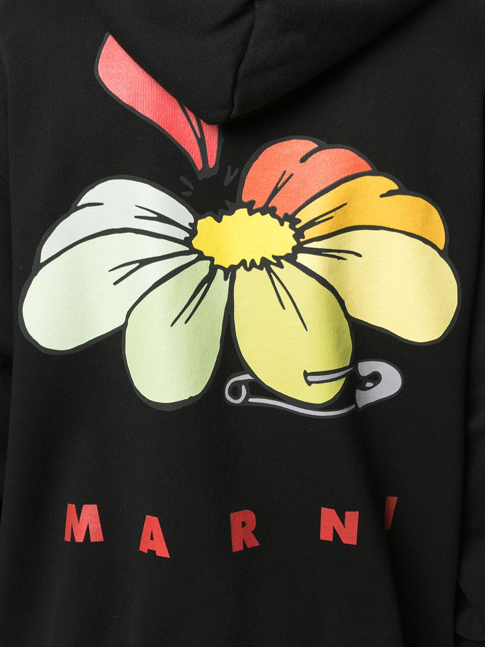 Picture of Marni | Floral Print Hoodie