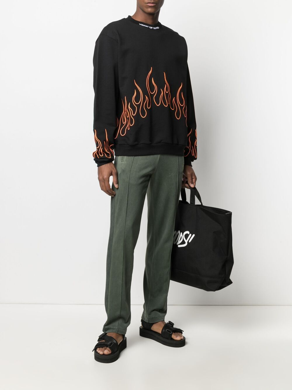 Picture of Vision Of Super | Embroiderd Sweatshirt