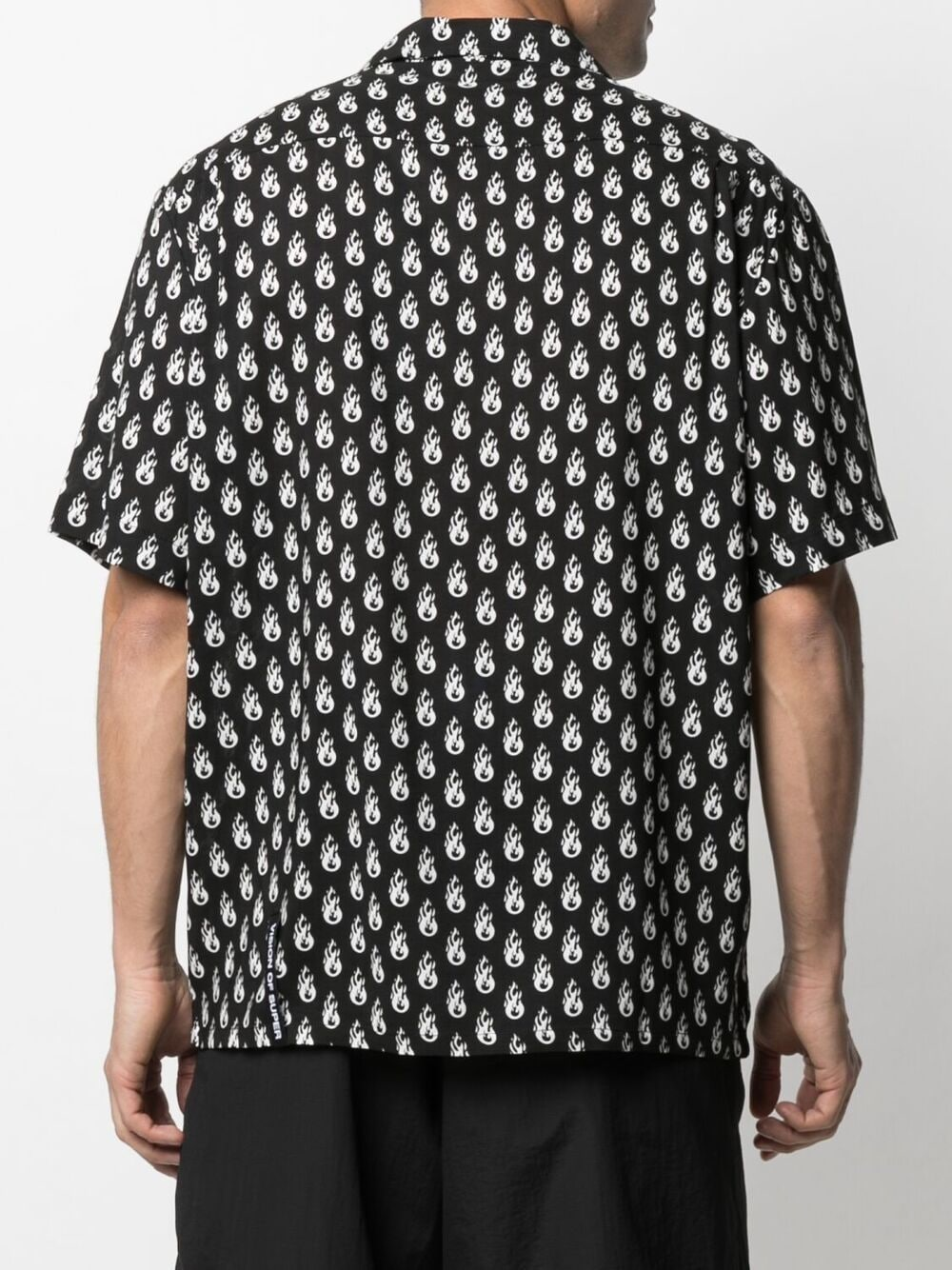 Picture of Vision Of Super | Flames Printed Shirt