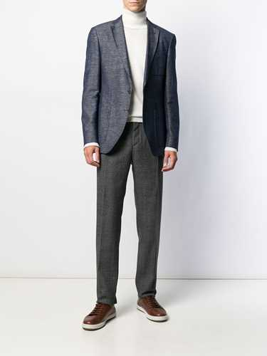 Picture of Incotex | Prince Of Wales Check Tailored Trousers