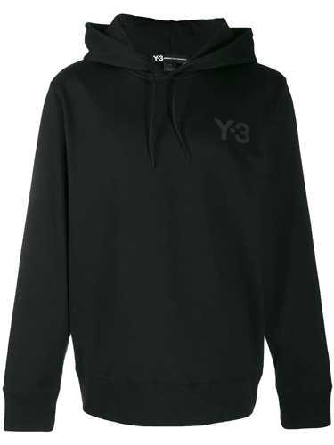 Picture of Adidas Y-3   Logo Printed Hoodie