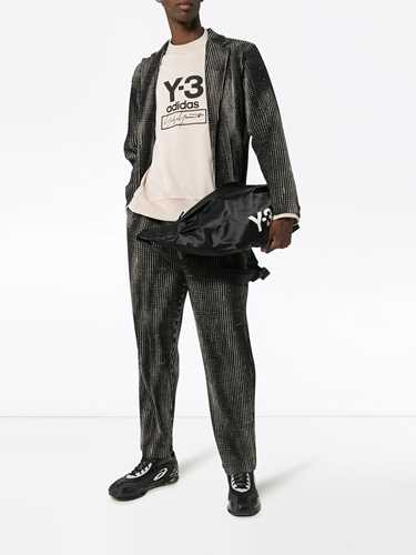 Picture of Adidas Y-3 | Stacked Logo Crew