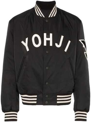 Picture of Adidas Y-3   Logo Varsity Jacket