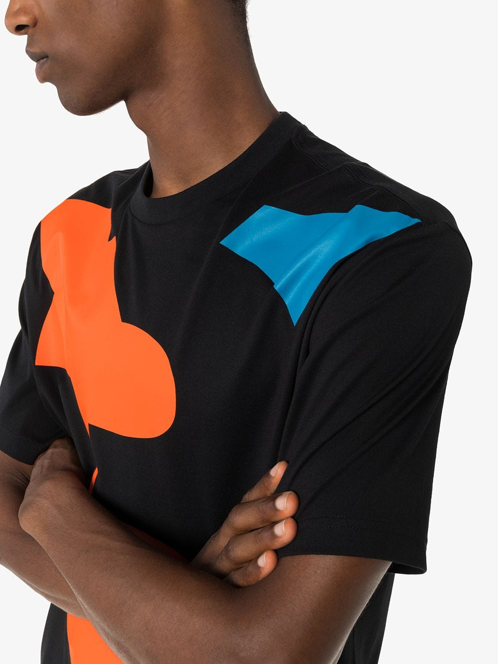 Picture of Adidas Y-3 | Geometric Print T-Shirt
