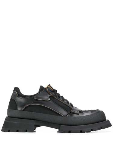 Picture of Jil Sander | Mesh Panel Lace Up Shoes