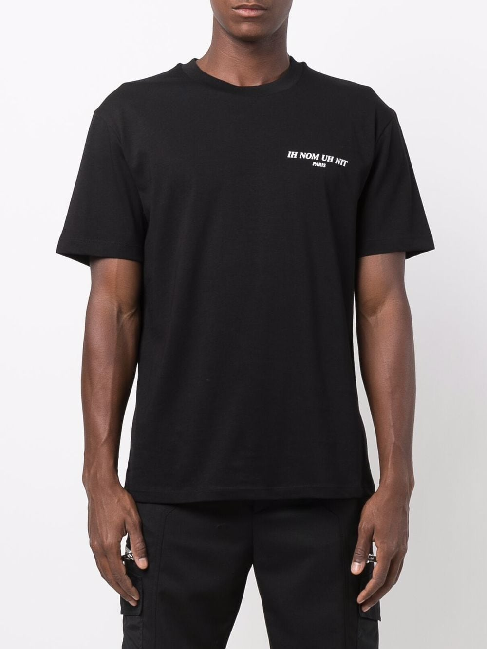 Picture of Ih Nom Uh Nit | Chest Logo-Print T-Shirt