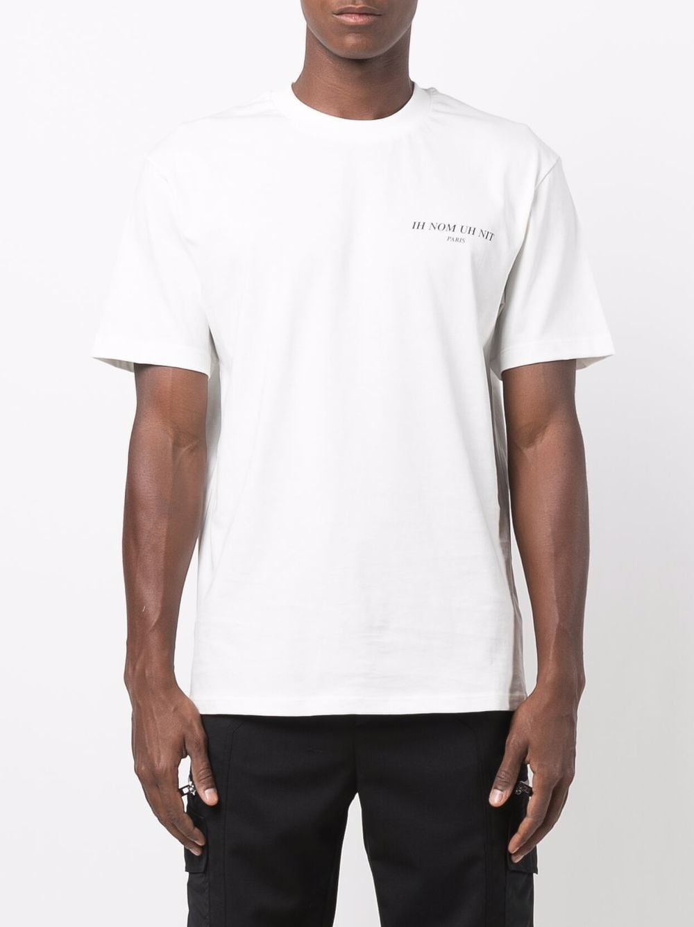 Picture of Ih Nom Uh Nit   Chest Logo-Print T-Shirt