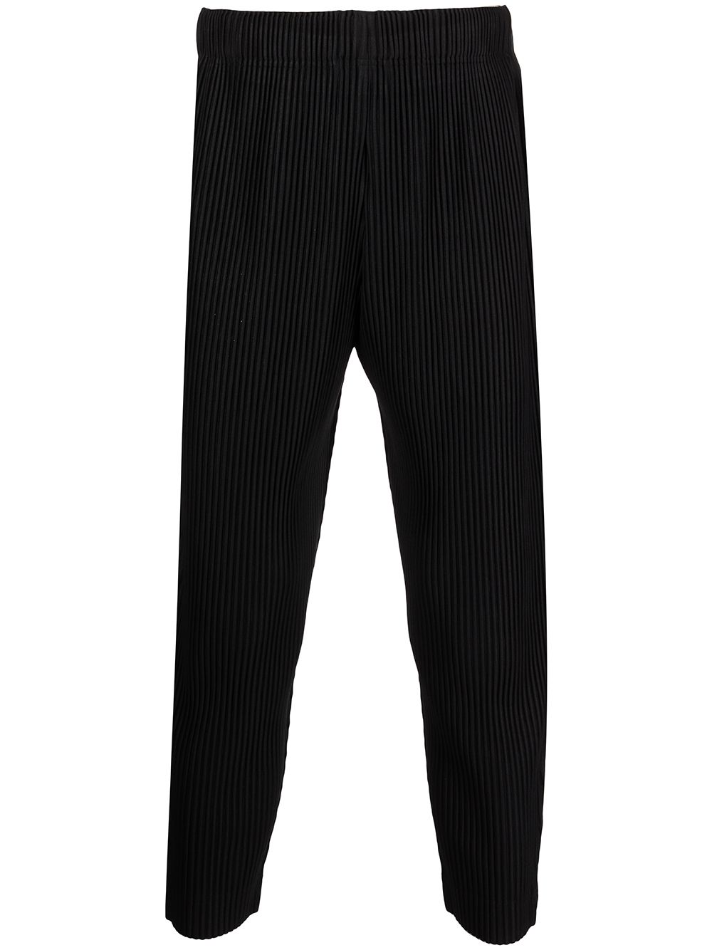 Picture of Homme Plisse` | Cropped Pleated Trousers