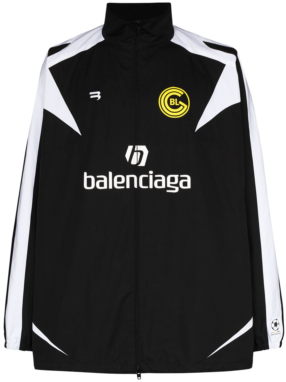 Picture of Balenciaga | Soccer Zip-Up Tracksuit Jacket