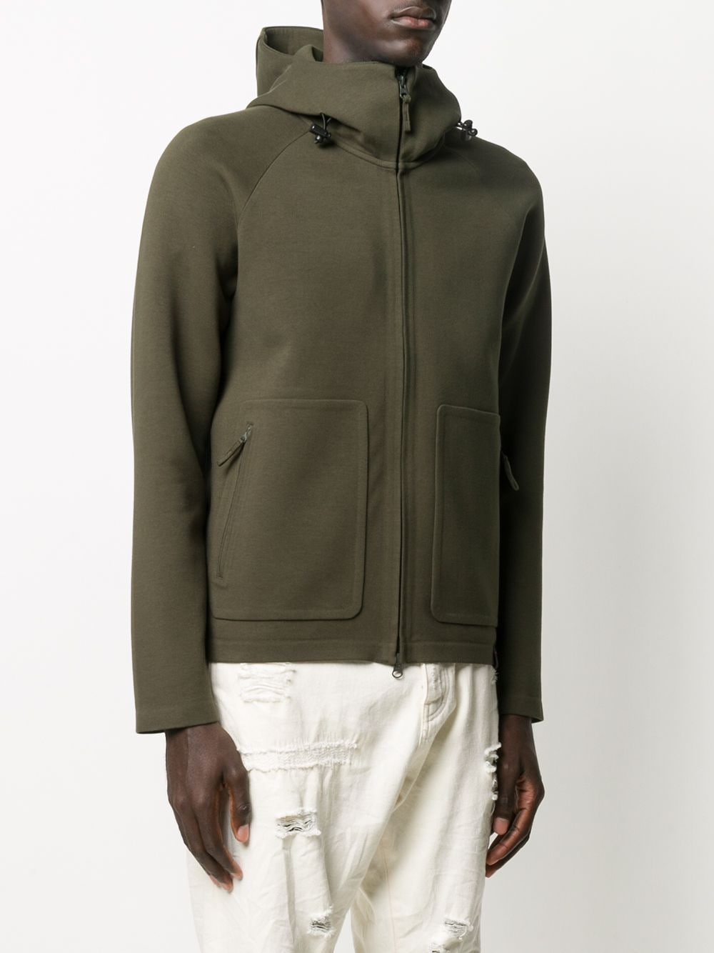 Picture of Aspesi | Zipped Hooded Jacket
