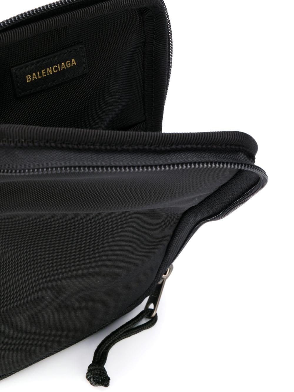 Picture of Balenciaga | Logo Patch Messenger Bag