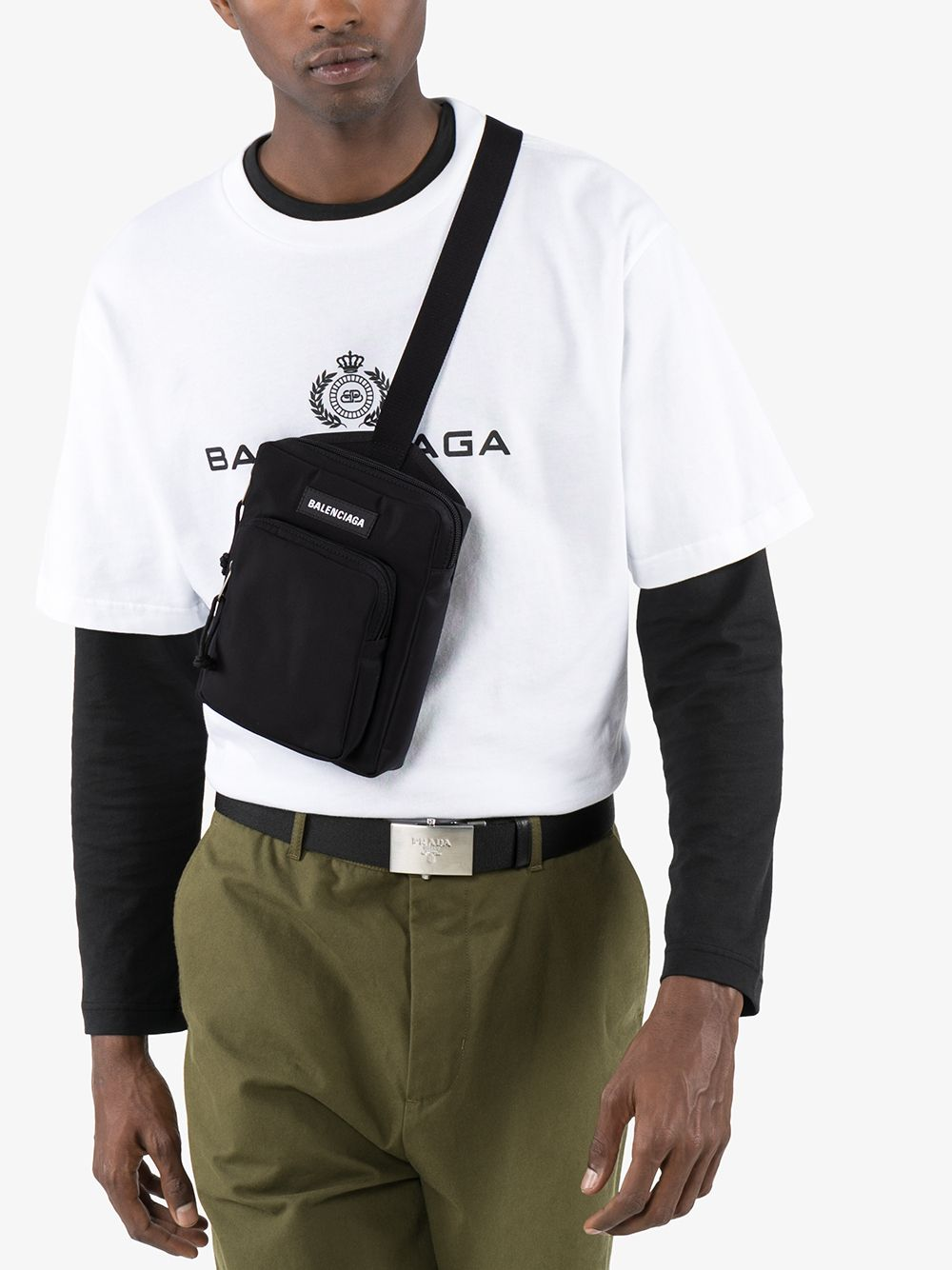 Picture of Balenciaga | Logo Shoulder Bag