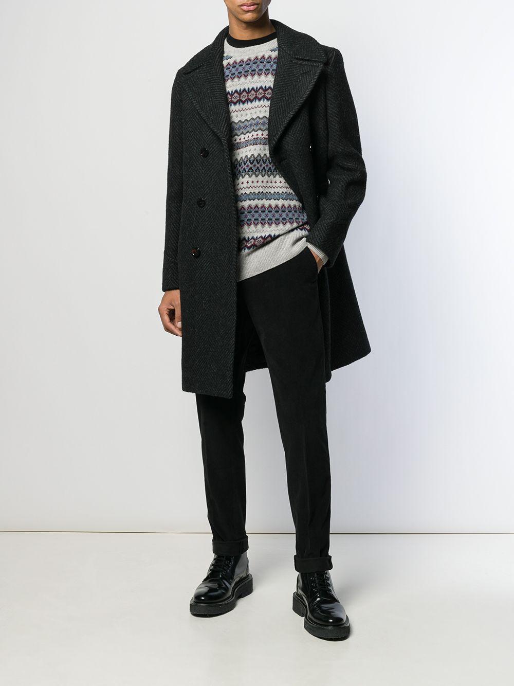 Picture of Palto` | Herringbone Tailored Coat