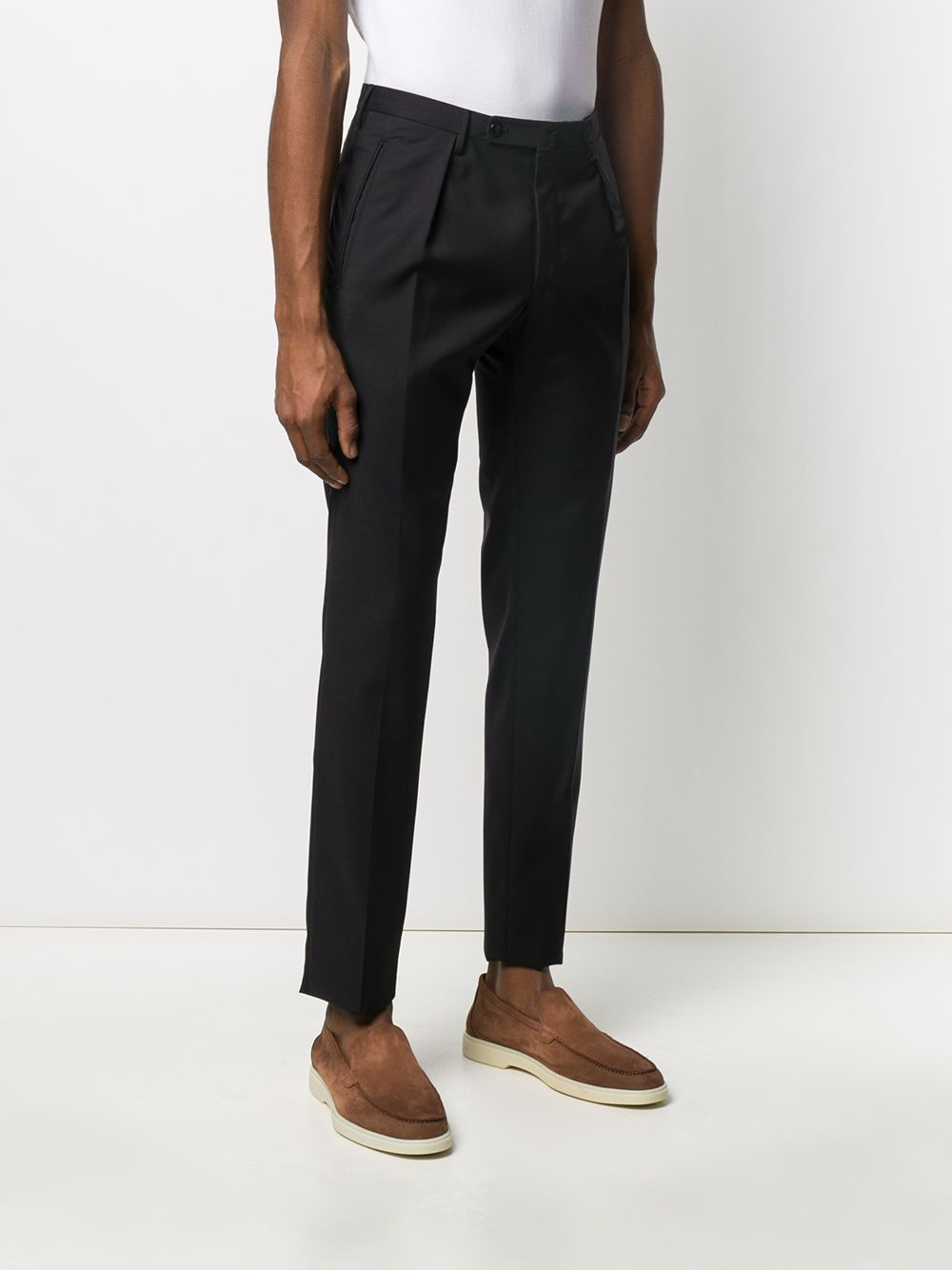 Picture of Incotex | Pleated Tailored Trousers