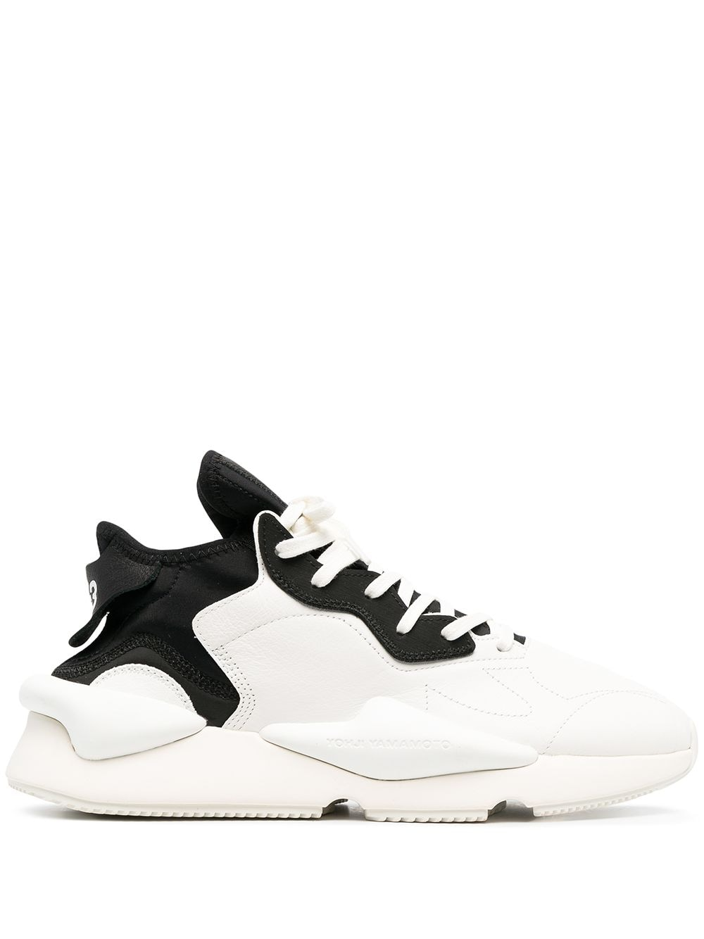 Picture of Adidas Y-3 | Two-Tone Lace-Up Sneakers