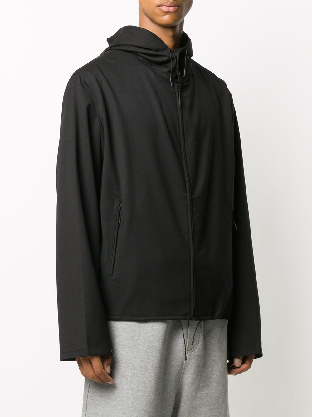 Picture of Adidas Y-3   Hooded Zipped Jacket
