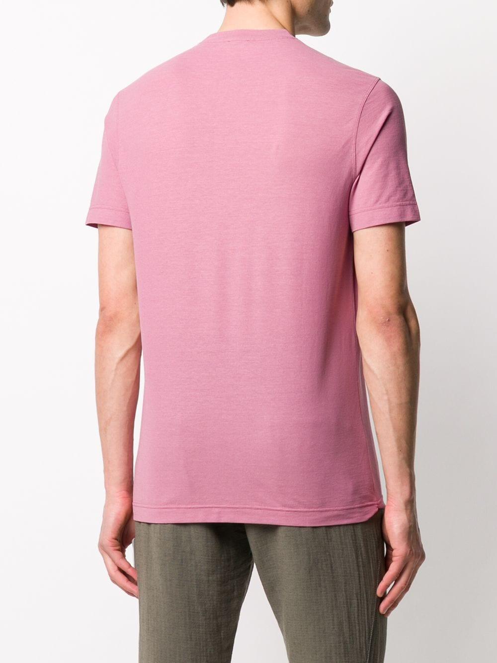 Picture of Zanone   Classic Plain T-Shirt