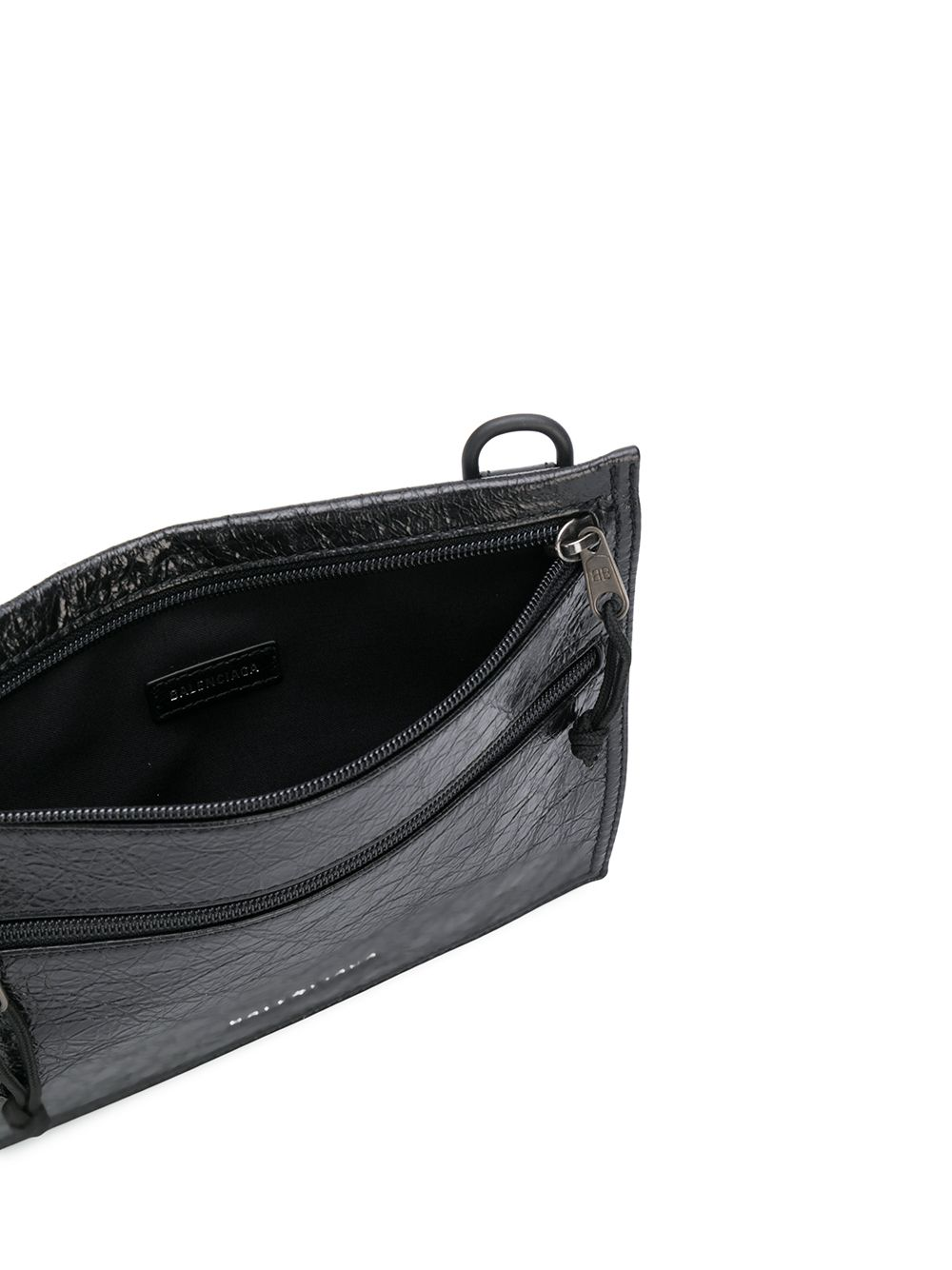 Picture of Balenciaga | Explorer Arena Cracked Leather Pouch Bag