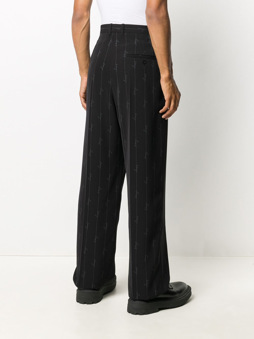 Picture of Balenciaga | Allover Logo Pants