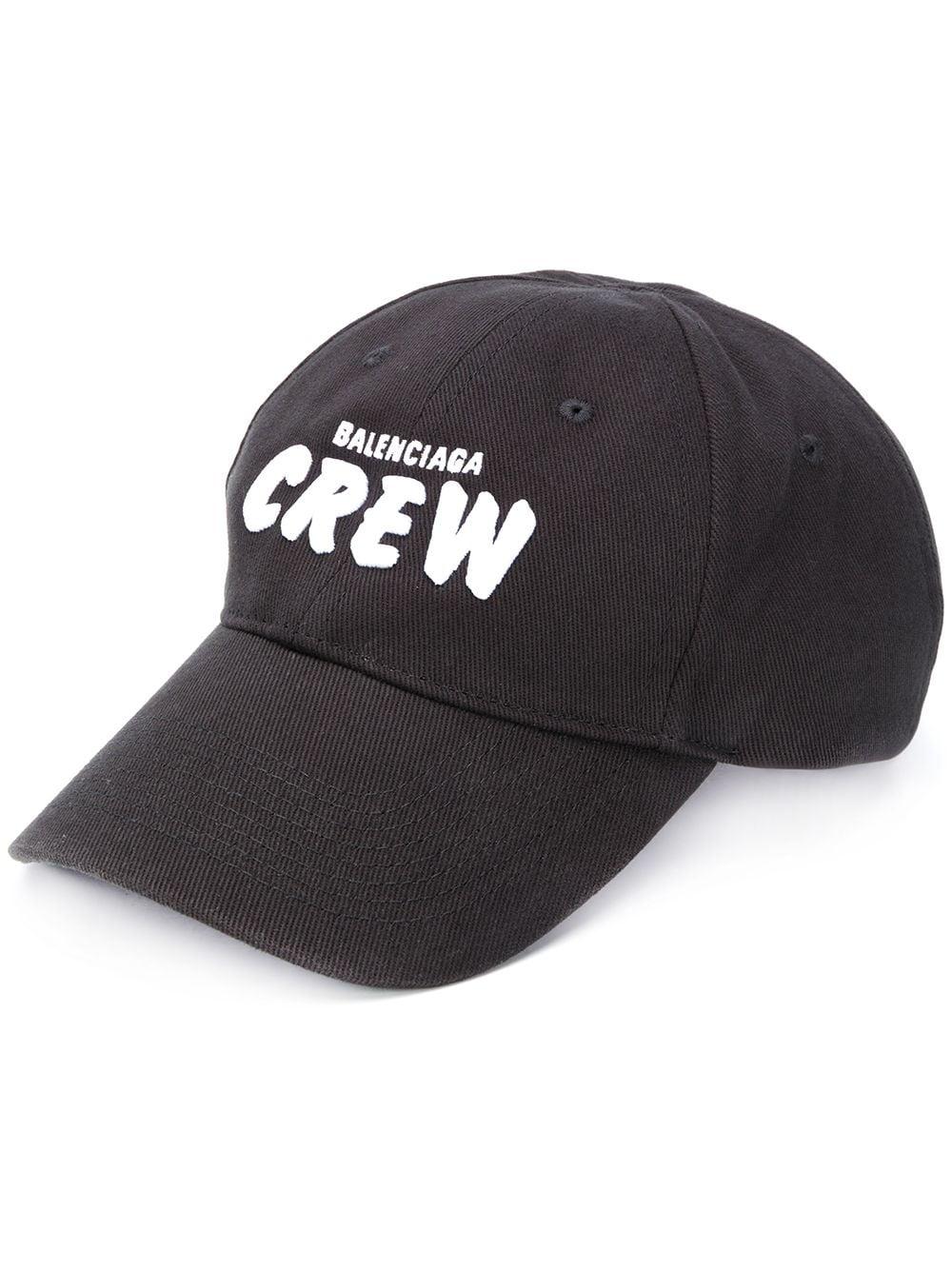 Picture of Balenciaga | Crew Embroidered Logo Cap