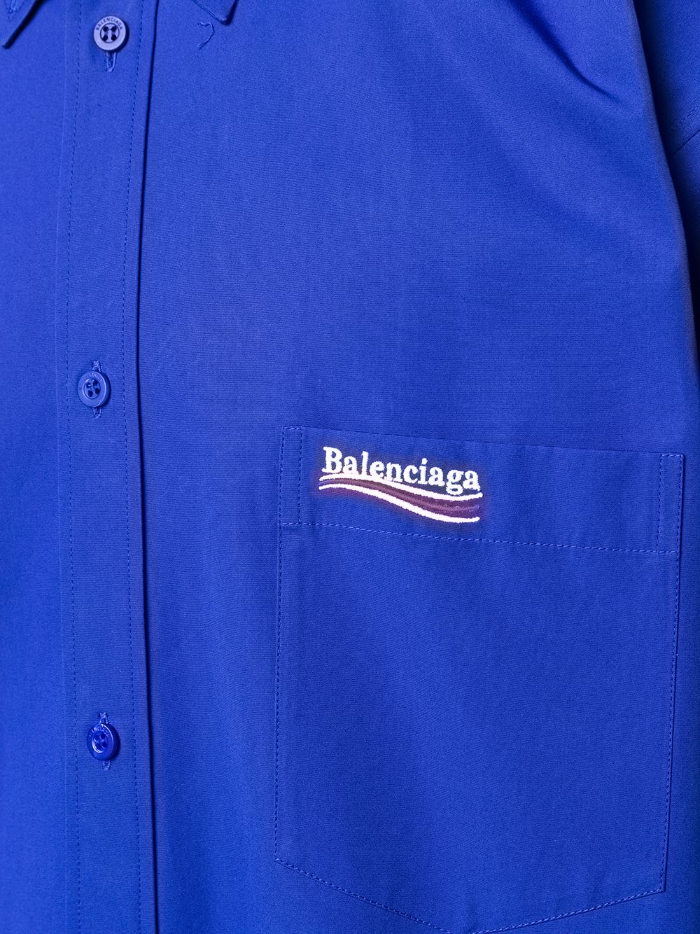Picture of Balenciaga | Campaign Long-Sleeve Shirt