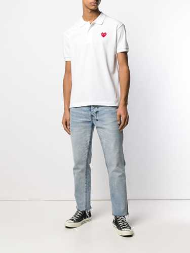Picture of Comme Play | Logo Heart Polo Shirt