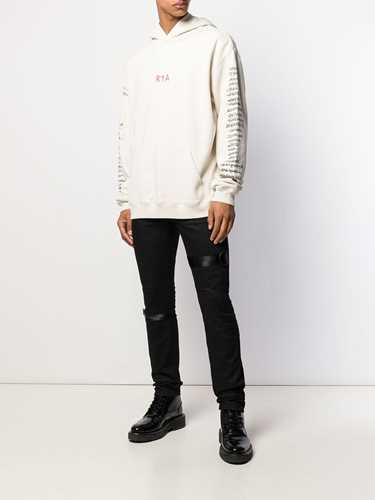 Picture of R T A | Logo Skinny-Fit Jeans