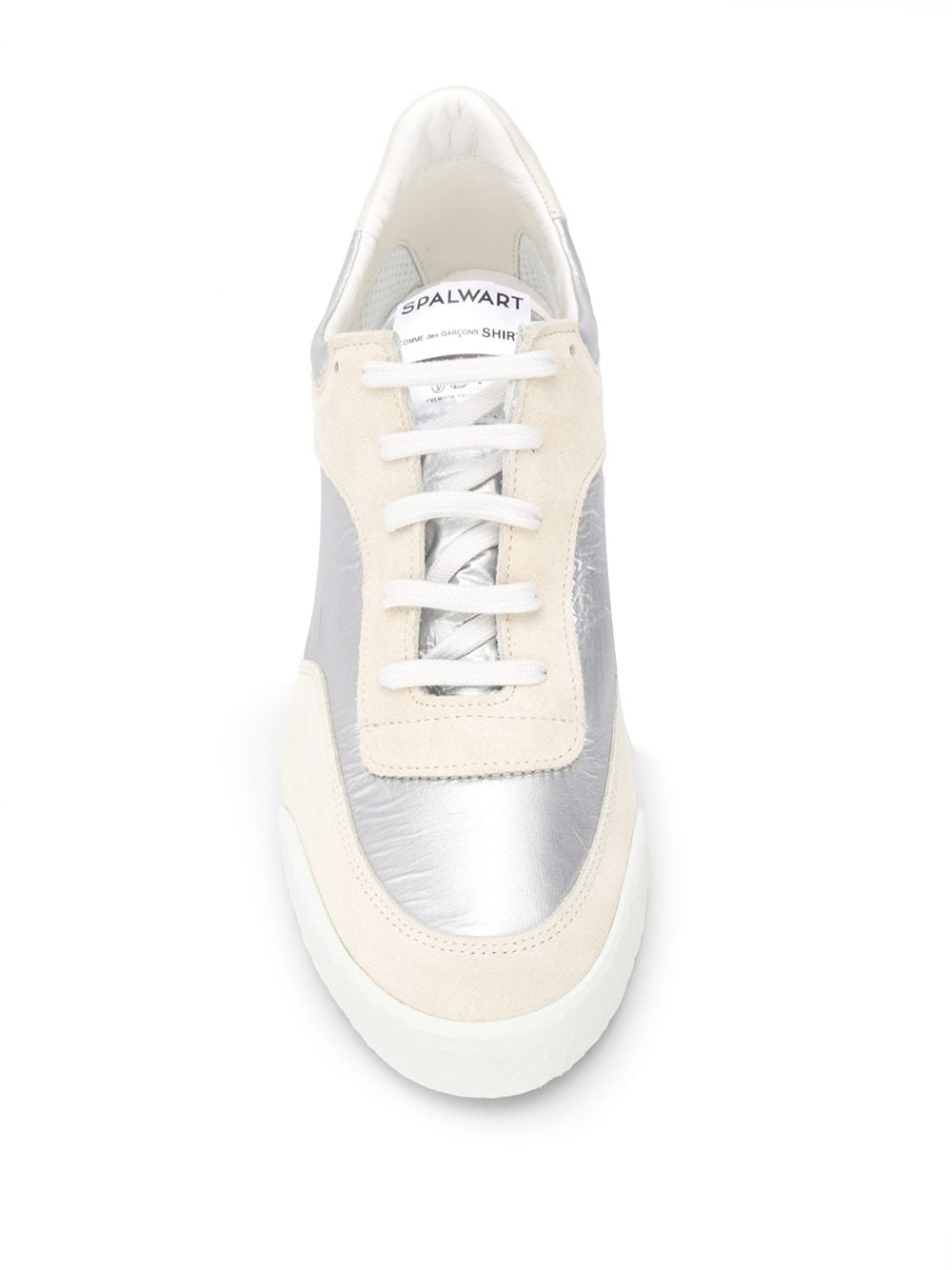 Picture of Comme Shirt | Panelled Sneakers