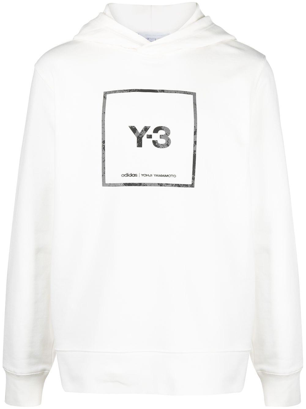 Picture of Adidas Y-3 | Logo Print Hoodie