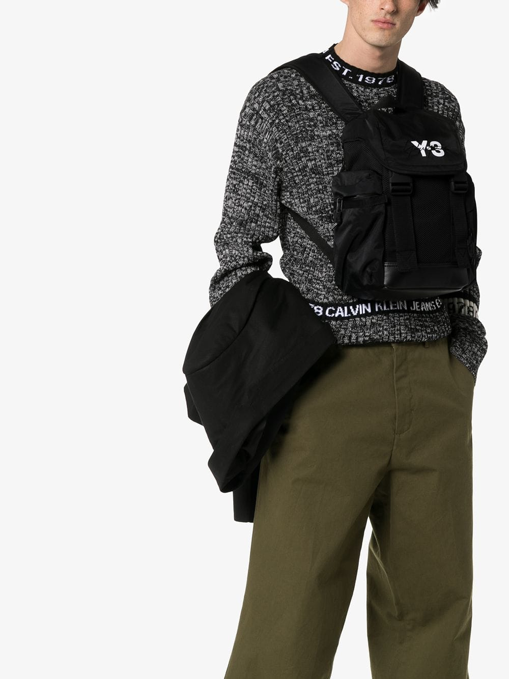 Picture of Adidas Y-3 | Mobility Logo Print Backpack