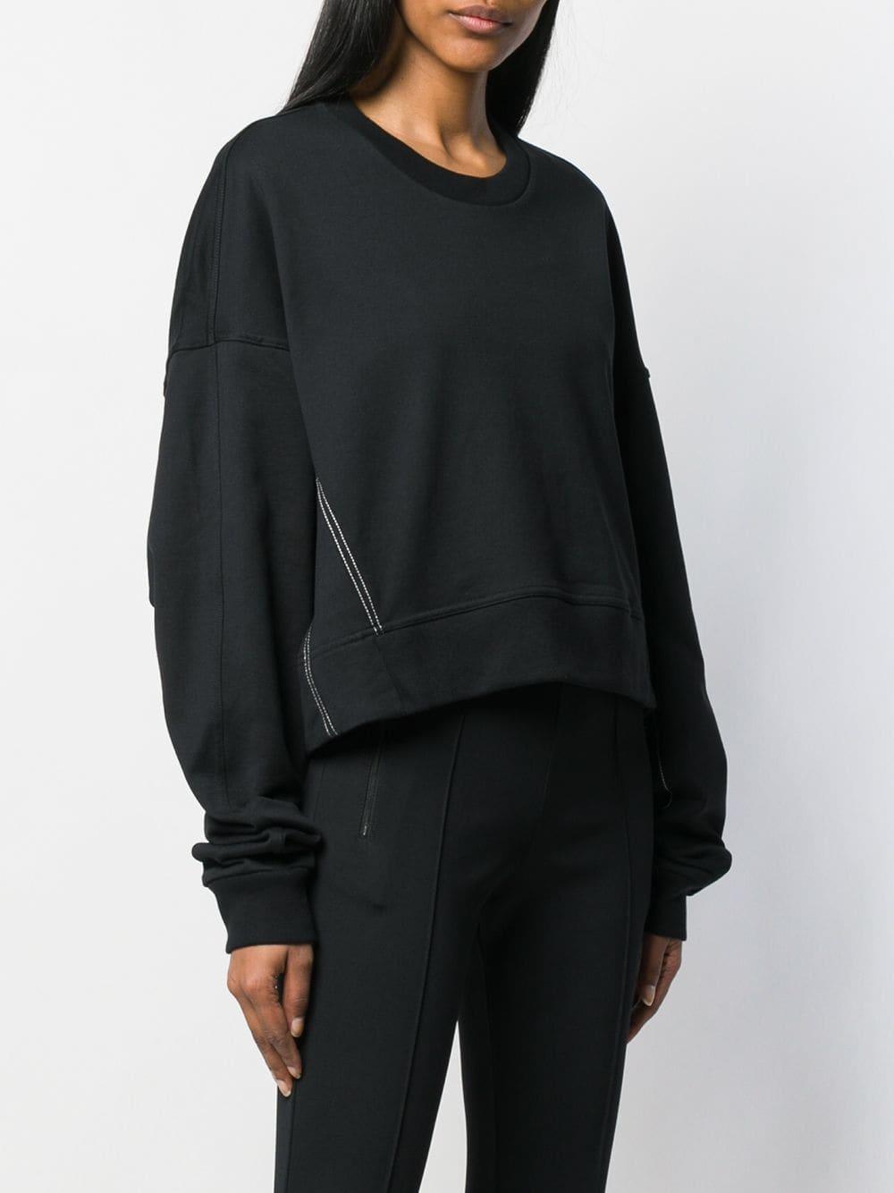 Picture of Adidas Y-3   Oversized Logo Sweatshirt