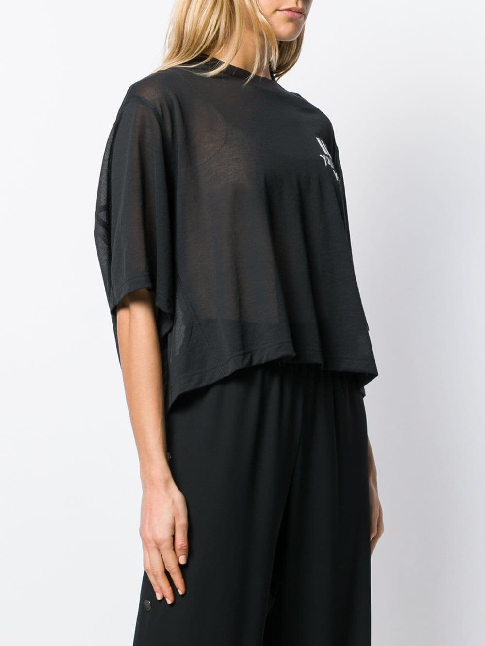 Picture of Adidas Y-3 | Short-Sleeve Sheer T-Shirt