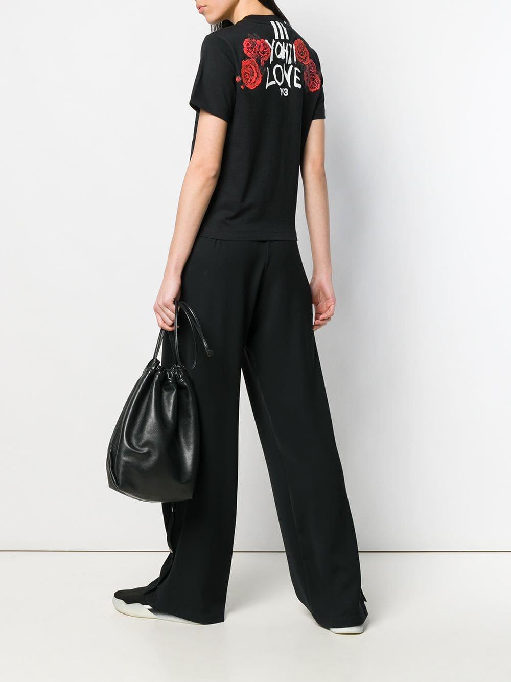 Picture of Adidas Y-3 | Yohji Love Tubular T-Shirt