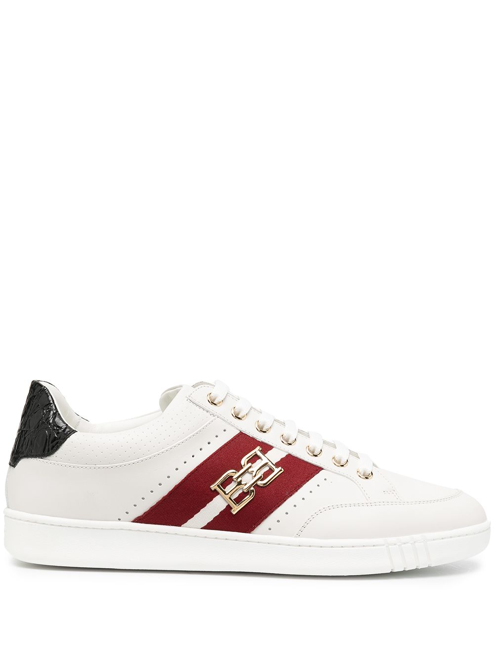 Picture of Bally | Buckle-Stripe Low-Top Sneakers