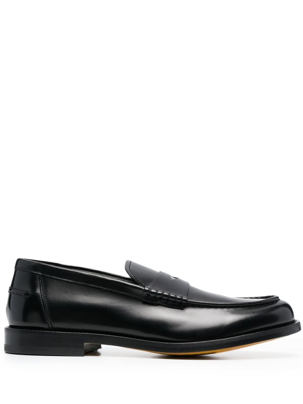 Picture of Doucal`S   Almond-Toe Penny Loafers