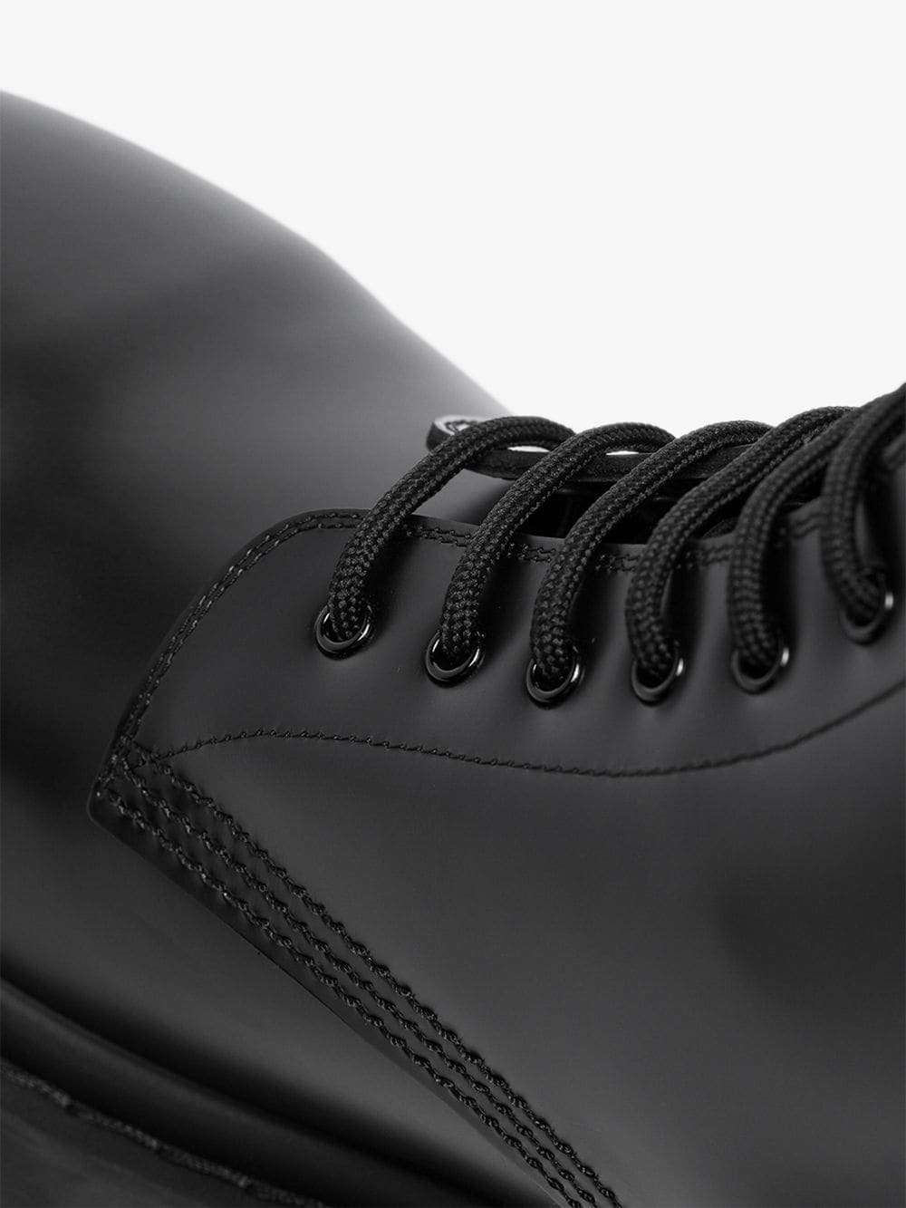 Picture of Balenciaga | Black Strike Leather Boots