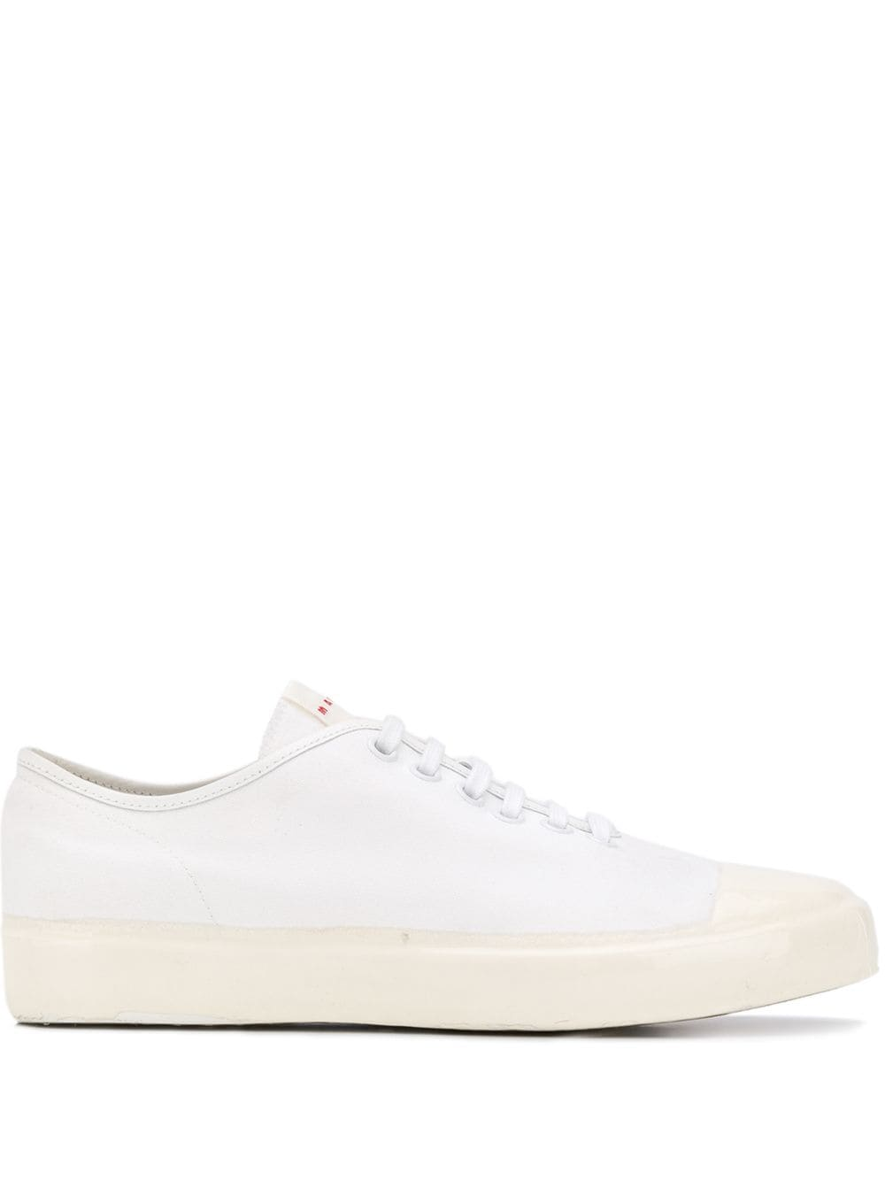 Picture of Marni | Low-Top Canvas Sneakers