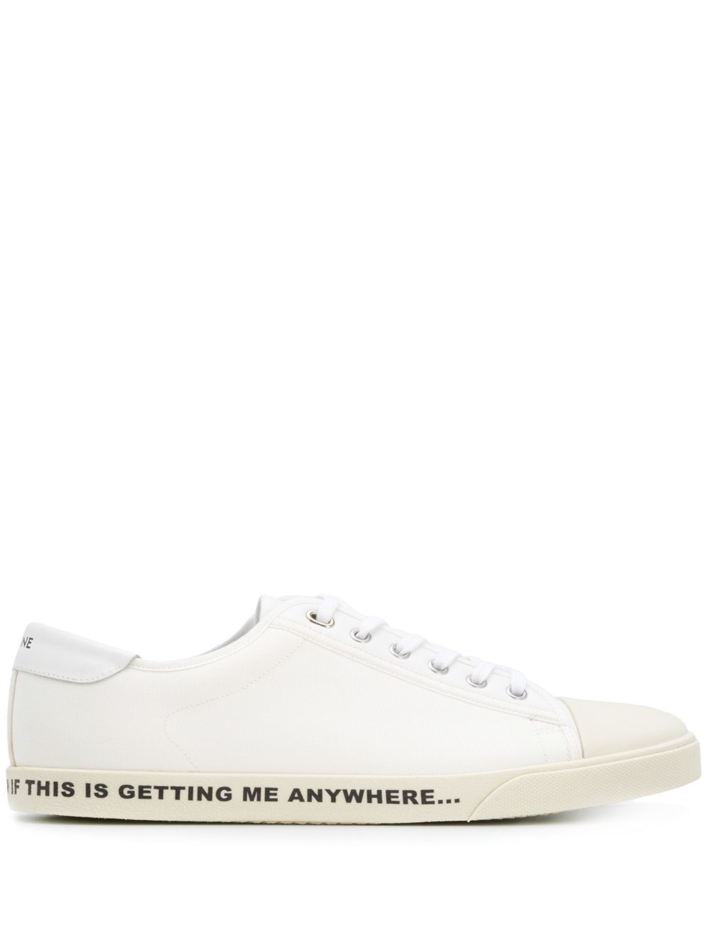 Picture of Celine | Blank Low Lace Up Sneaker