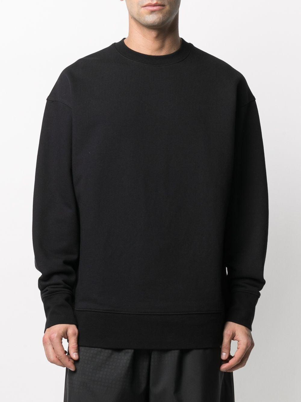 Picture of Adidas Y-3   Tri-Stripe Logo-Patch Sweatshirt
