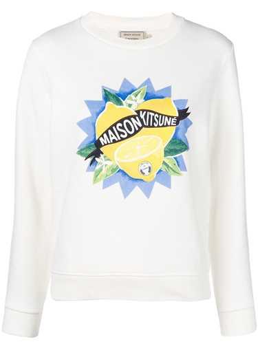 Picture of Maison Kitsune` | Lemon Sweater