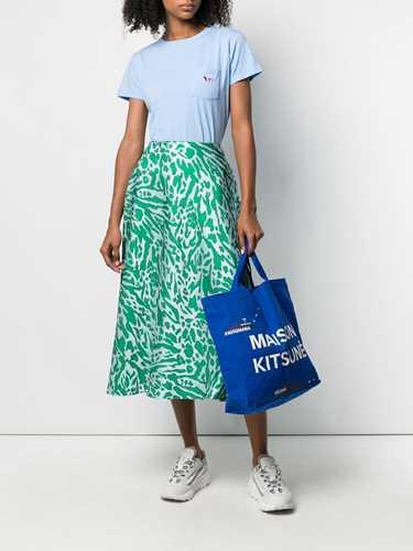 Picture of Maison Kitsune` | Tricolour Fox Patch T-Shirt