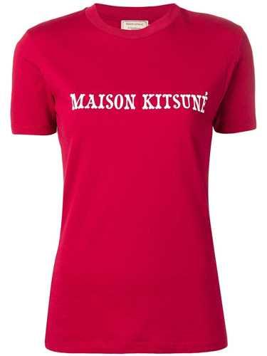 Picture of Maison Kitsune` | Slim-Fit Logo T-Shirt