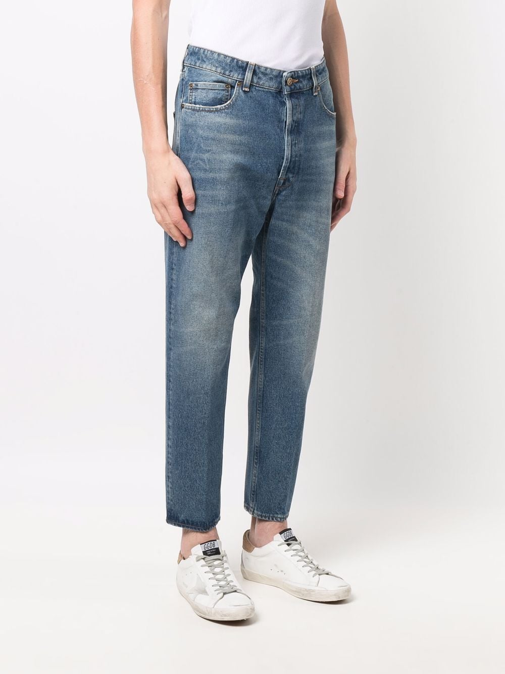Picture of Golden Goose Deluxe Brand | Straight-Leg Jeans