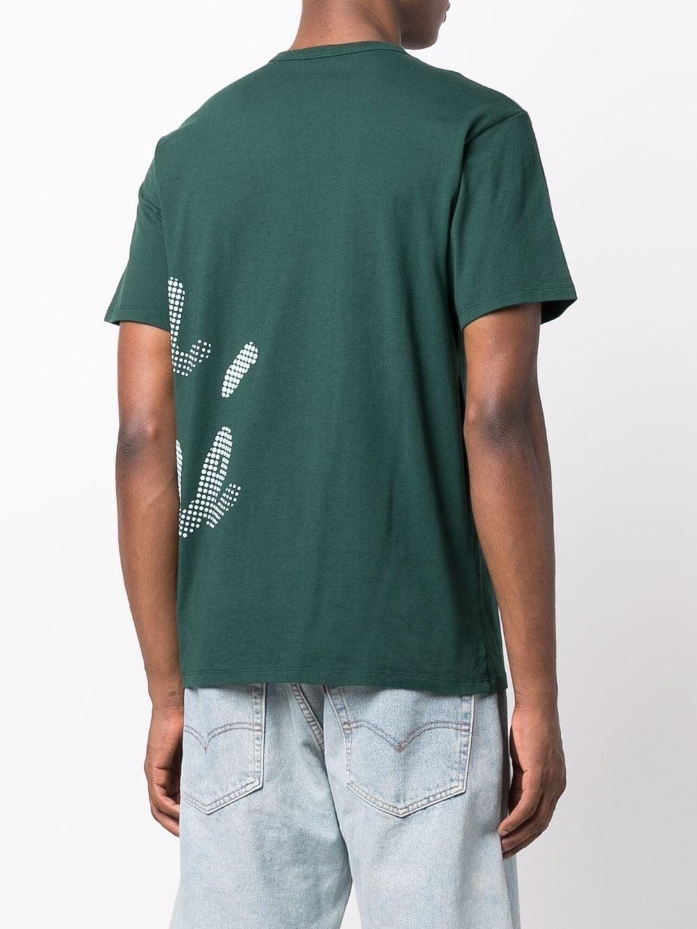Picture of Maison Kitsune`   Logo-Print T-Shirt