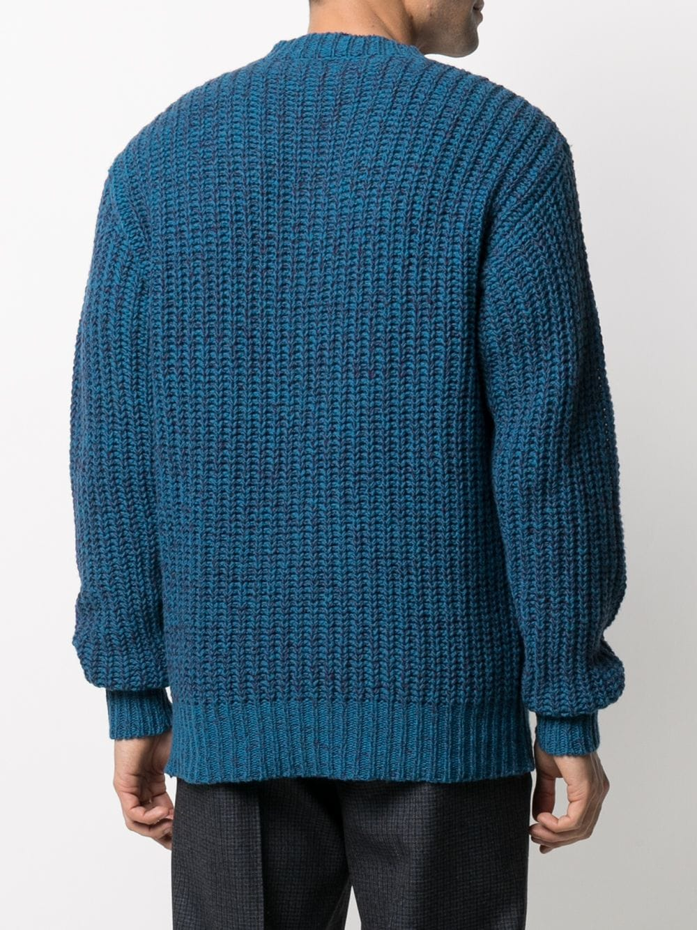 Picture of Marni | Spray Gradient Chunky-Knit Wool Jumper