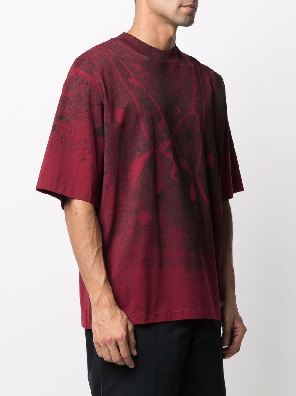 Picture of Marni | Paint Splatter-Print T-Shirt