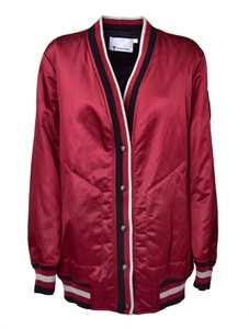 Picture of T By Alexander Wang | Rib Trimmed Cardigan Jacket