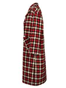 Picture of Mcq | Checked Pattern Coat