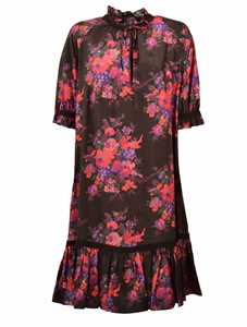 Picture of Mcq | Floral Print Dress