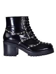 Picture of Mcq | Lace-Up Chunky Boots